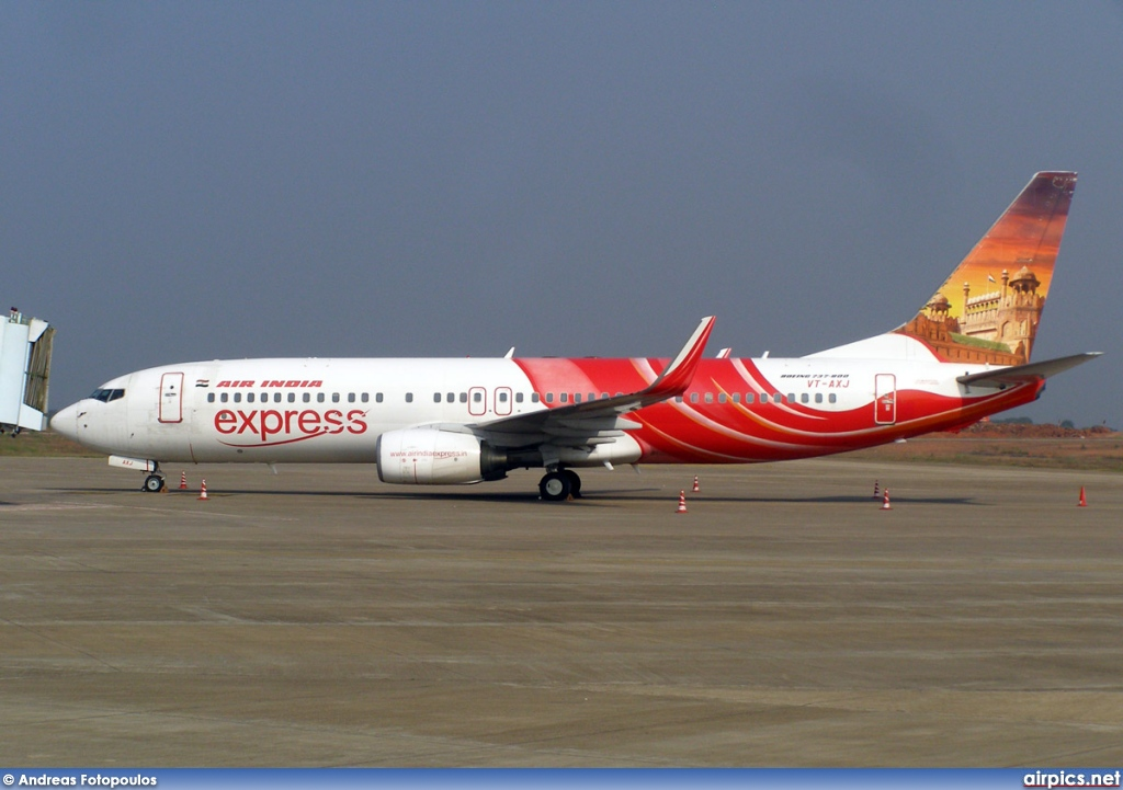 VT-AXJ, Boeing 737-800, Air India Express