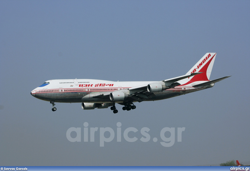 VT-EPW, Boeing 747-300M, Air India