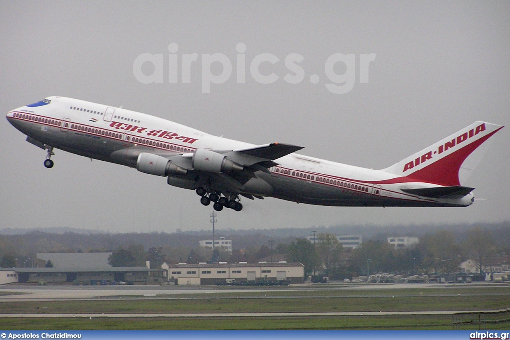 VT-EPX, Boeing 747-300M, Air India