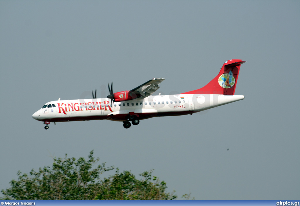 VT-KAL, ATR 72-210, Kingfisher Airlines