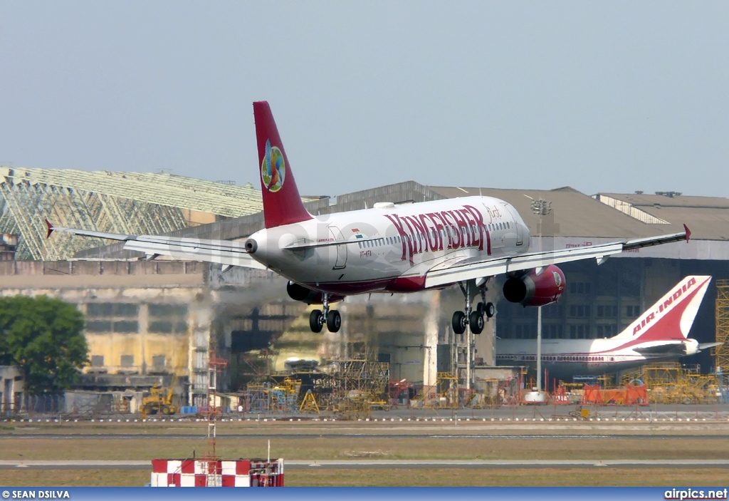 VT-KFA, Airbus A320-200, Kingfisher Airlines