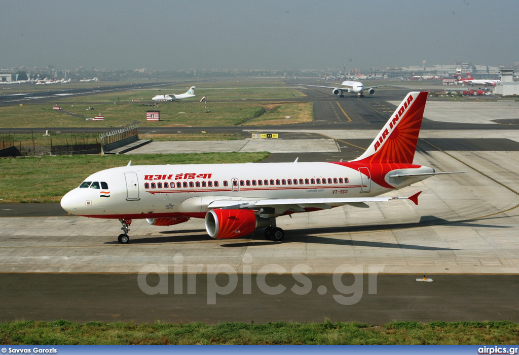 VT-SCG, Airbus A319-100, Air India