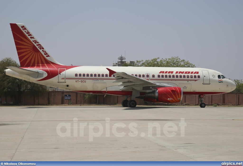 VT-SCU, Airbus A319-100, Air India