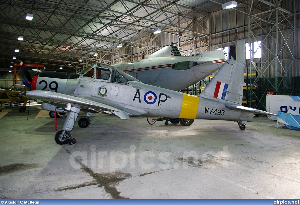 WV493, Percival Provost T.1, Royal Air Force