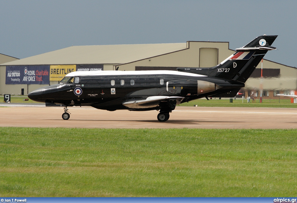 XS727, Hawker Siddeley Dominie T.1, Royal Air Force