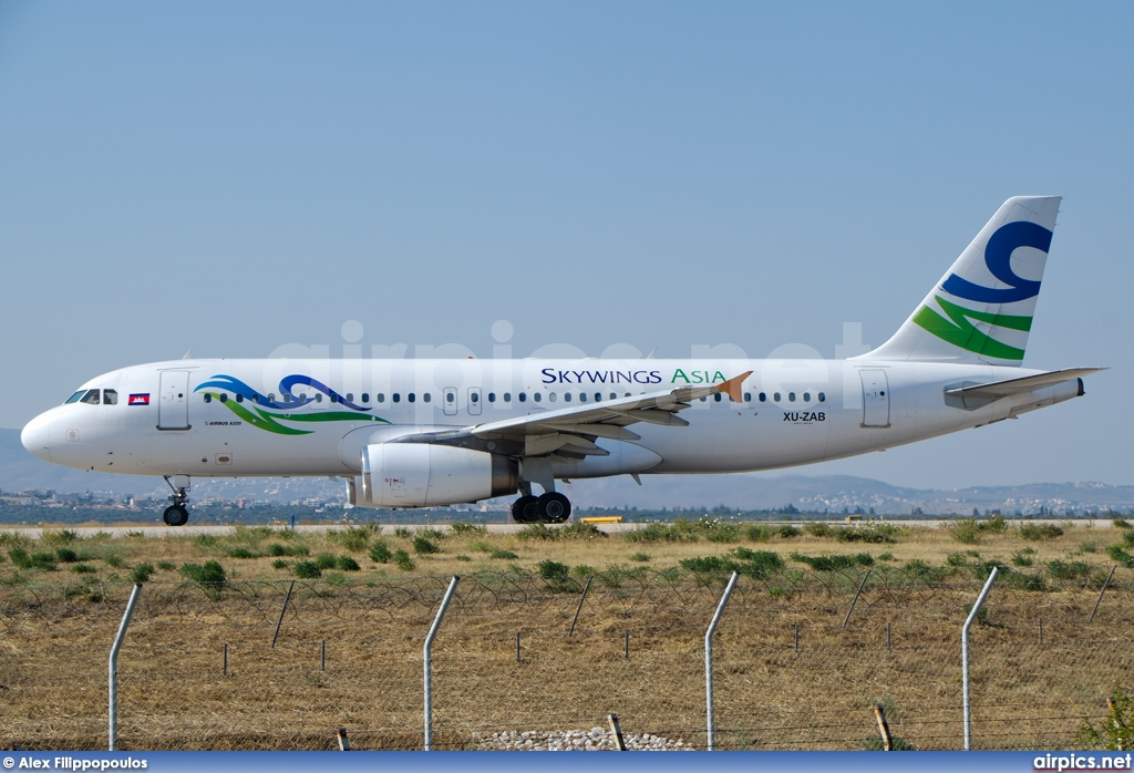 XU-ZAB, Airbus A320-200, Skywings Asia Airlines