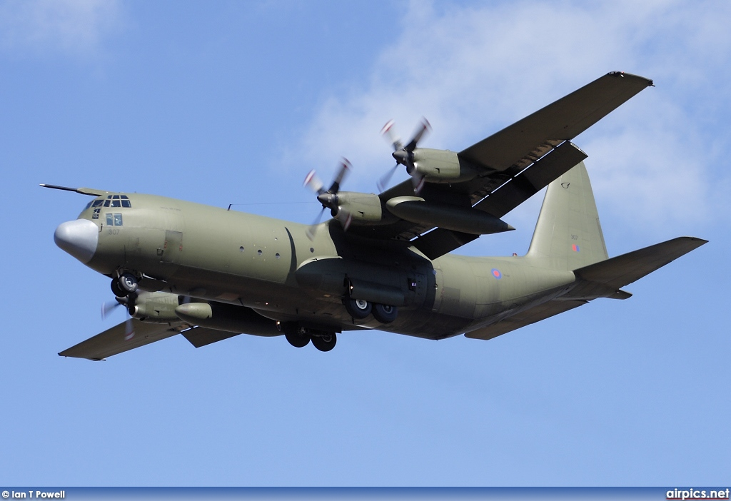 XV307, Lockheed C-130K Hercules, Royal Air Force