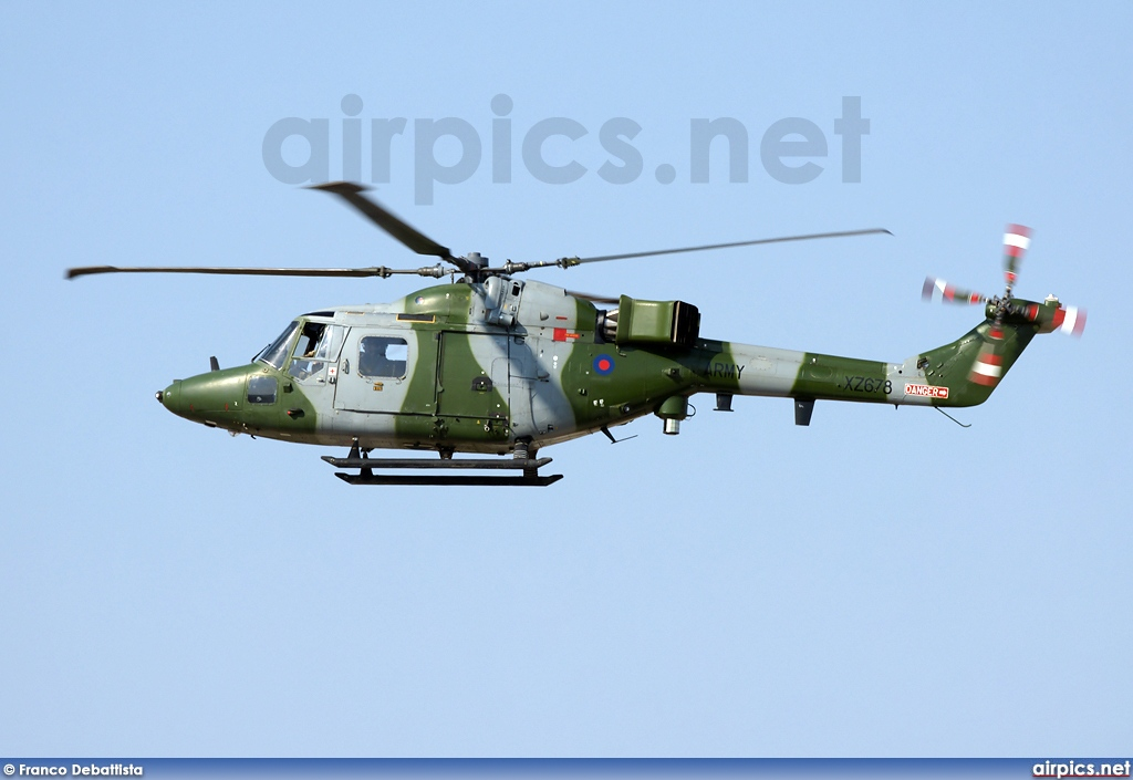 XZ678, Westland Lynx AH.7, Royal Air Force