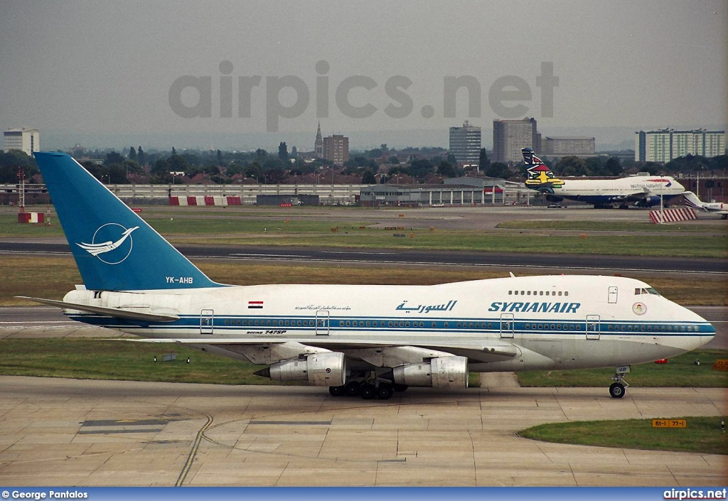 YK-AHB, Boeing 747-SP, Syrian Arab Airlines