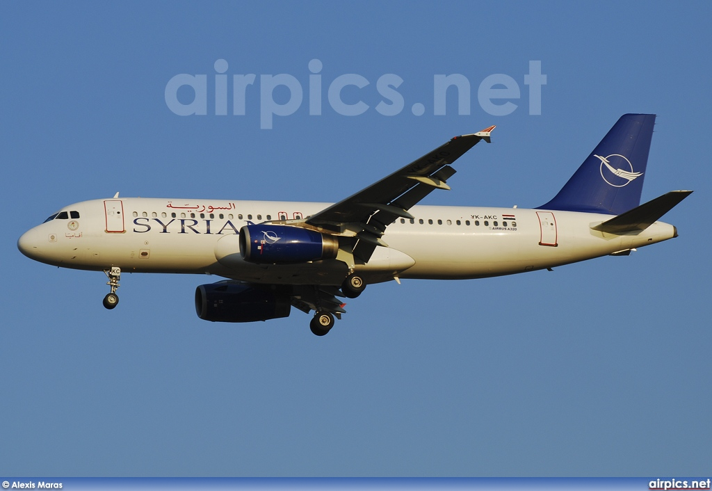 YK-AKC, Airbus A320-200, Syrian Arab Airlines