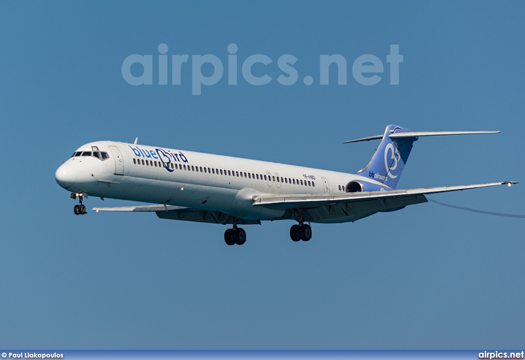 YR-HBD, McDonnell Douglas MD-83, Bluebird Airways