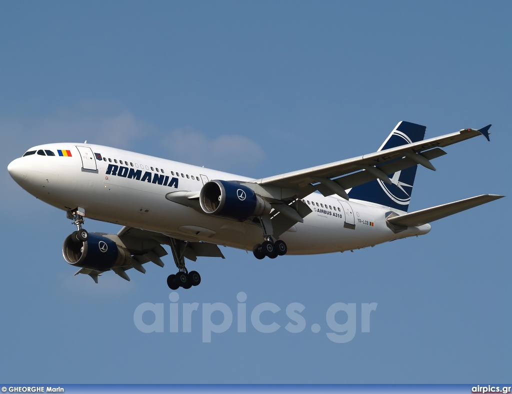 YR-LCB, Airbus A310-300ET, Romanian Government