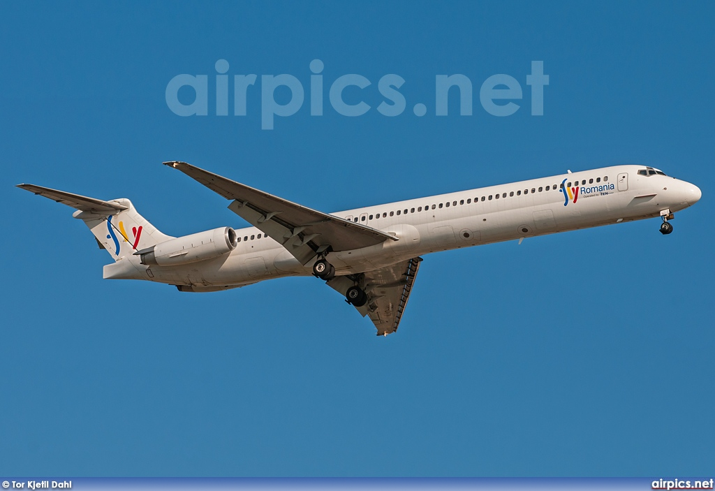 YR-OTY, McDonnell Douglas MD-82, Ten Airways