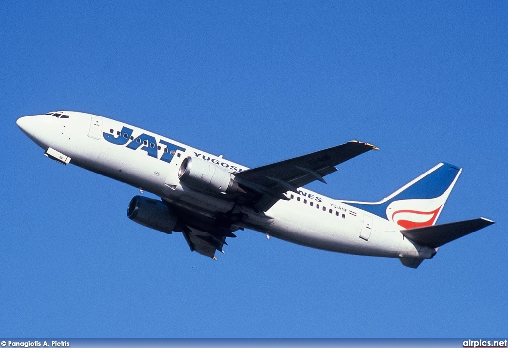 YU-ANF, Boeing 737-300, Jat Airways