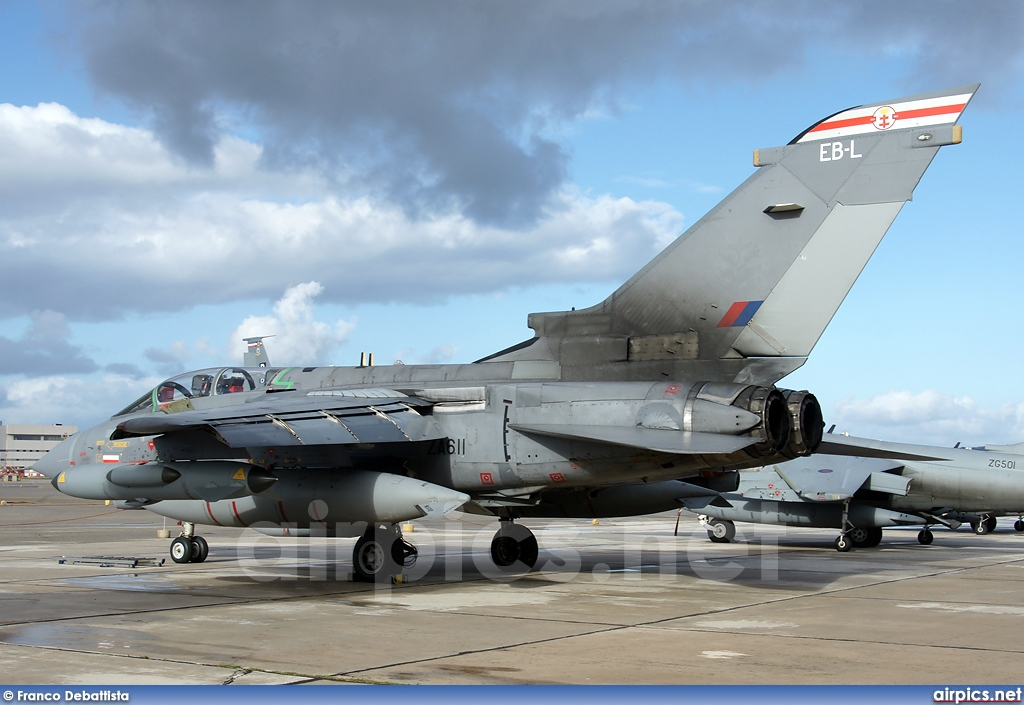 ZA611, Panavia Tornado GR.4, Royal Air Force
