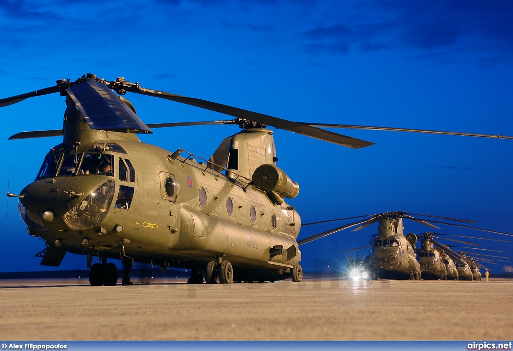 ZD575, Boeing Chinook HC.2, Royal Air Force