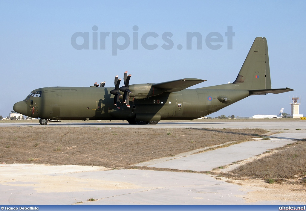 ZH870, Lockheed C-130J-30 Hercules, Royal Air Force
