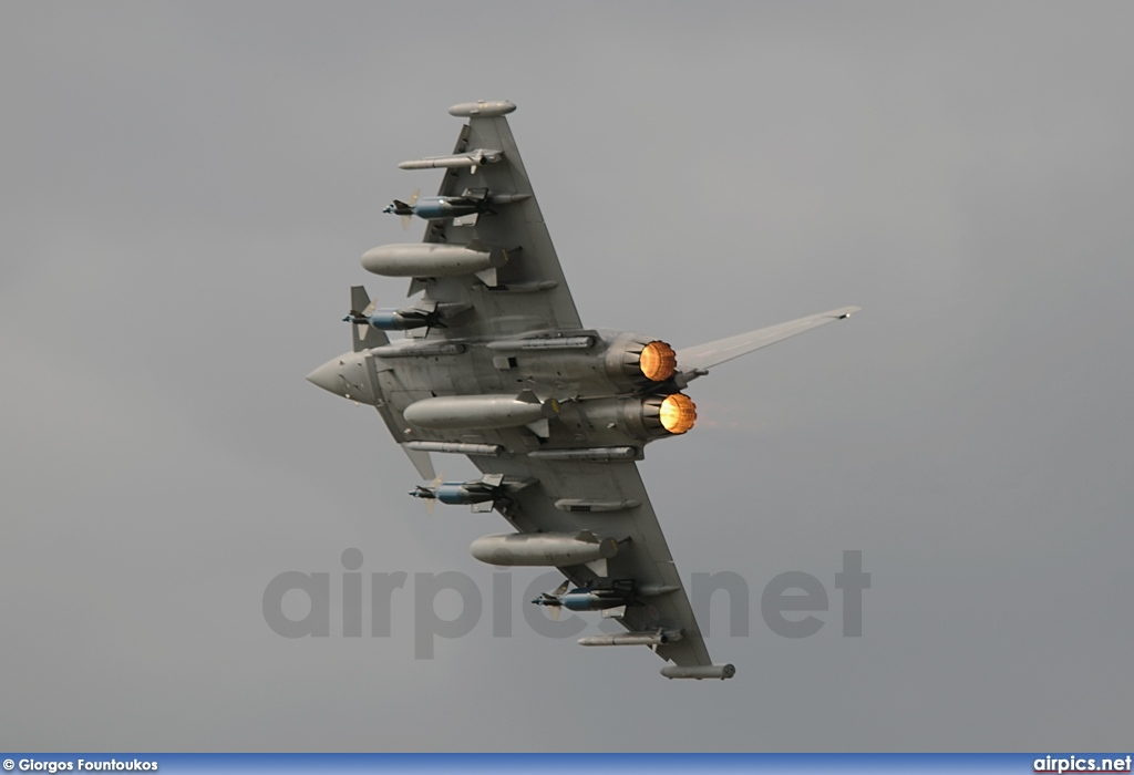 ZJ700, Eurofighter Typhoon F.2, Royal Air Force