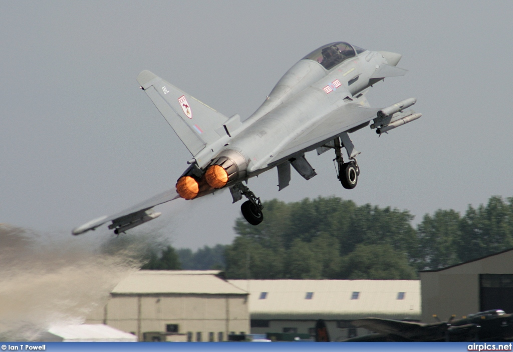 ZJ813, Eurofighter Typhoon T.1, Royal Air Force