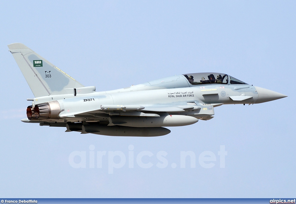 ZK071, Eurofighter EF2000T, Royal Saudi Air Force