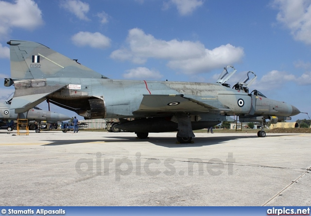 01512, McDonnell Douglas F-4E AUP Phantom II, Hellenic Air Force