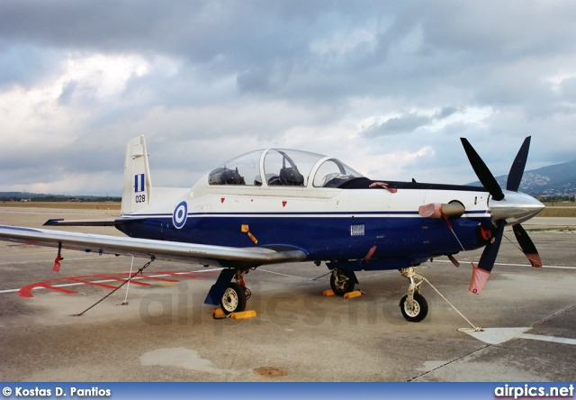 028, Beechcraft T-6A Texan II, Hellenic Air Force
