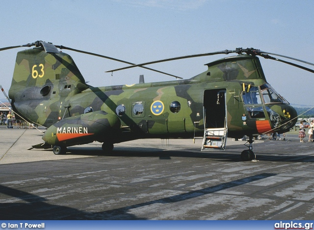 04063, Boeing-Vertol 107 Hkp 4B, Swedish Navy