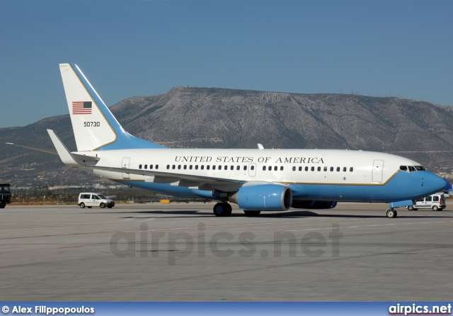 05-0730, Boeing C-40C (737-700/BBJ), United States Air Force