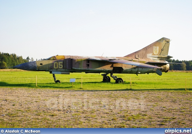 05, Mikoyan-Gurevich MiG-23MF, Ukrainian Air Force