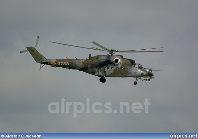 0788, Mil Mi-24V, Czech Air Force
