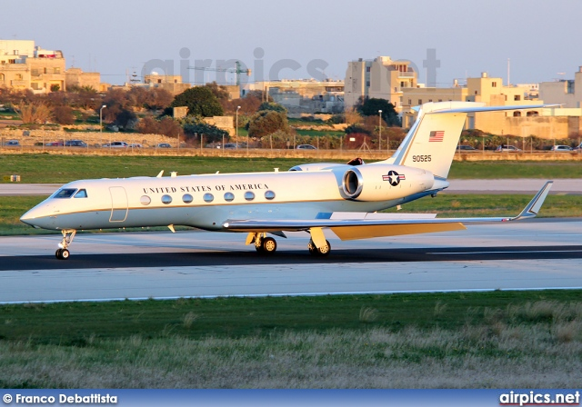 09-0525, Gulfstream V-SP, United States Air Force