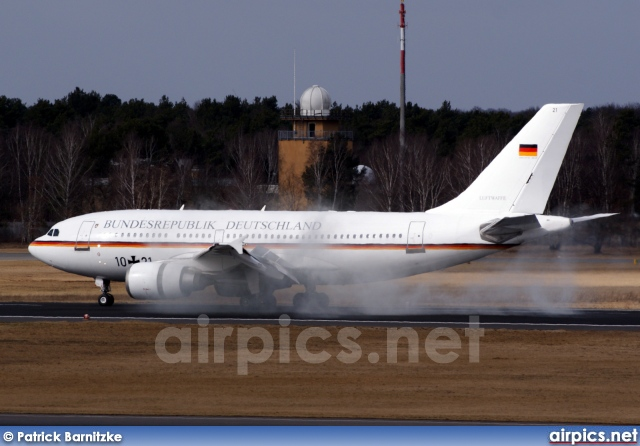 10-21, Airbus A310-300, German Air Force - Luftwaffe