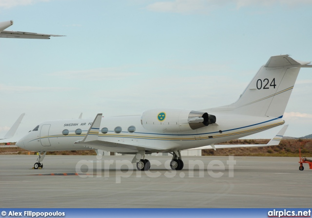 102004, Gulfstream IV, Swedish Air Force