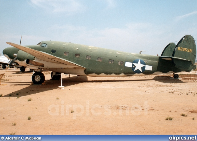 12473, Lockheed R50-5 Lodestar, United States Air Force