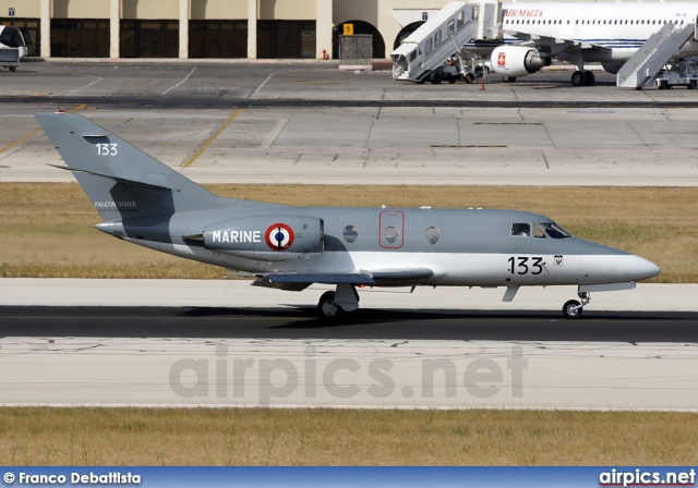 133, Dassault Falcon 10MER, French Navy - Aviation Navale