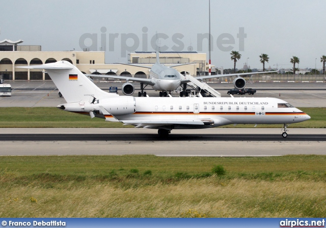 14-02, Bombardier Global 5000, German Air Force - Luftwaffe