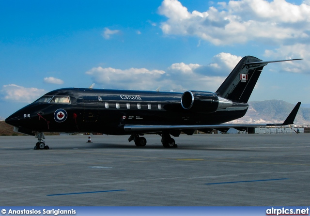 144616, Bombardier CC-144-Challenger, Canadian Forces Air Command