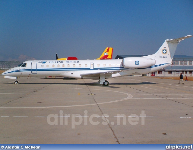 145-209, Embraer ERJ-135LR, Hellenic Air Force