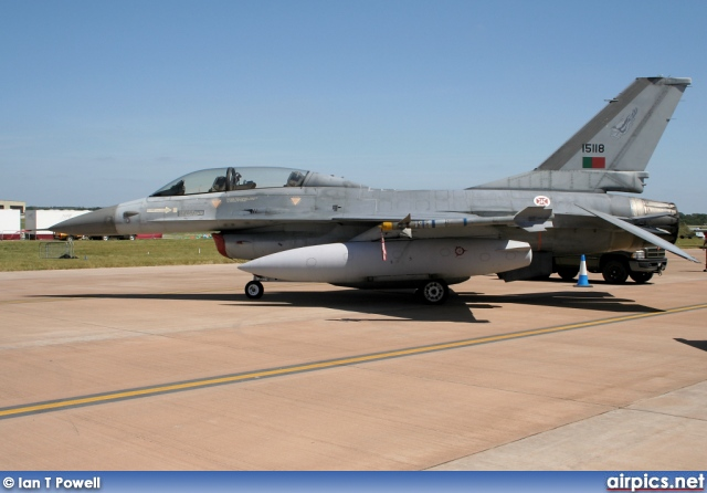 15118, Lockheed F-16B CF Fighting Falcon, Portuguese Air Force