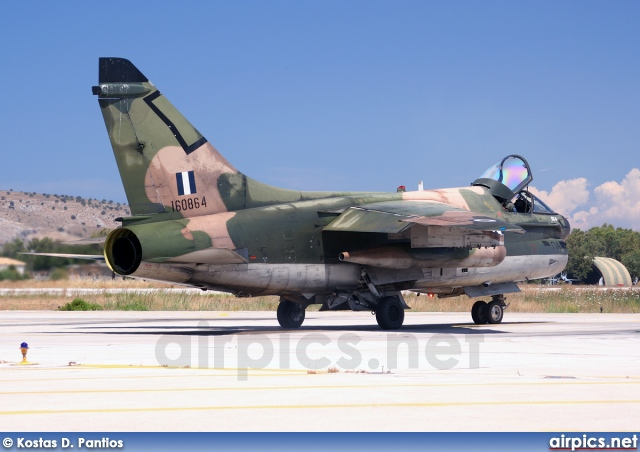 160864, Ling-Temco-Vought A-7E Corsair II, Hellenic Air Force
