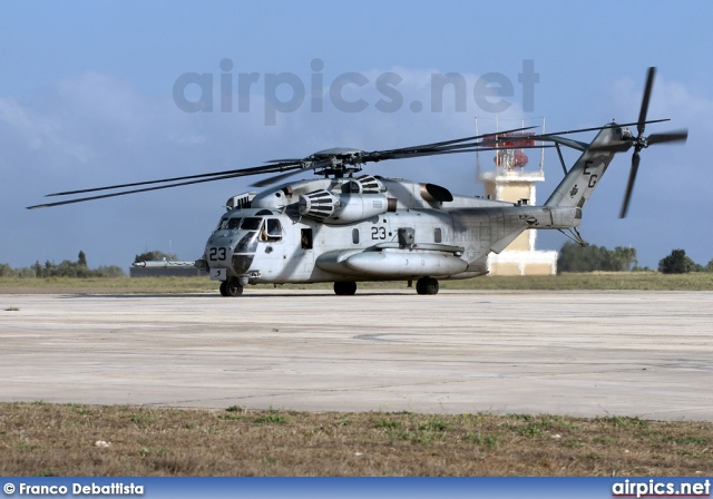 163085, Sikorsky CH-53A Sea Stallion, United States Marine Corps