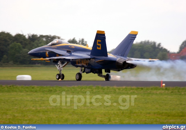 163130, Boeing (McDonnell Douglas) F/A-18A Hornet, United States Navy