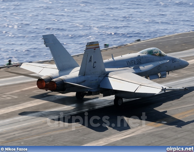 164969, Boeing (McDonnell Douglas) F/A-18C Hornet, United States Marine Corps