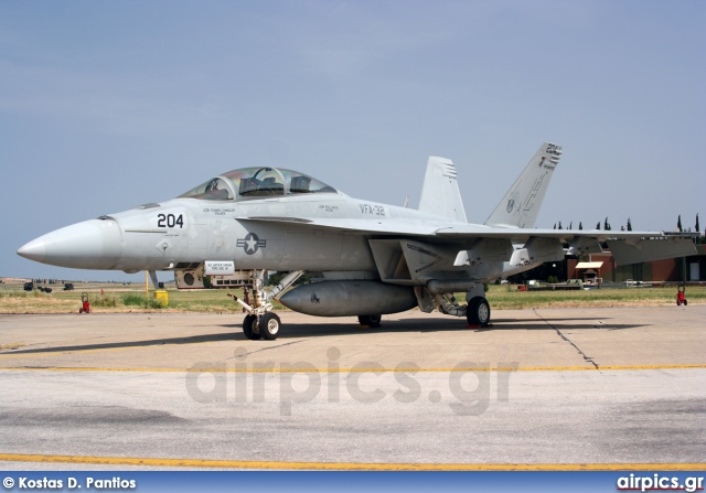 166665, Boeing (McDonnell Douglas) F/A-18F Super hornet, United States Navy
