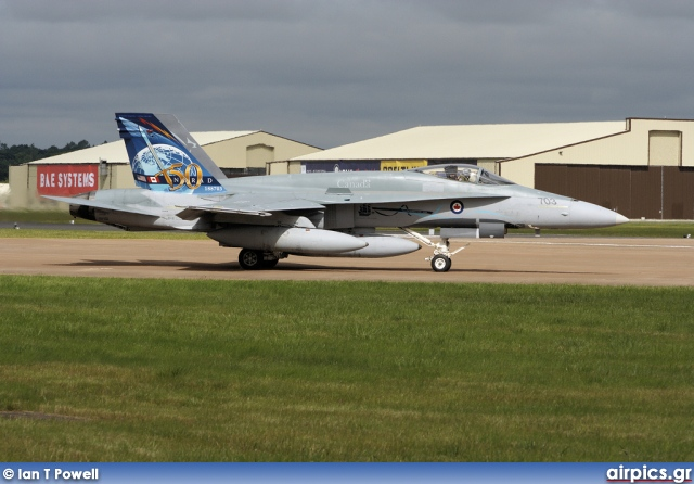 188703, Boeing (McDonnell Douglas) CF-18A Hornet, Canadian Forces Air Command