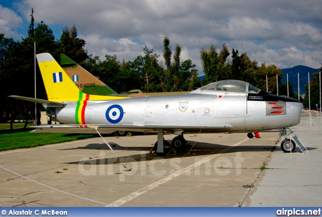 19146, Canadair CL-13 Sabre Mk.2, Hellenic Air Force