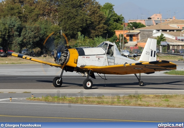 201, PZL M-18B Dromader, Hellenic Air Force