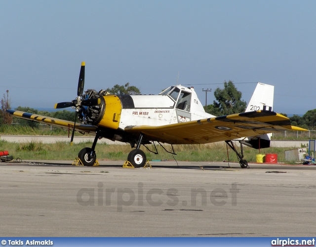 202, PZL-Mielec M-18-BS Dromader, Hellenic Air Force