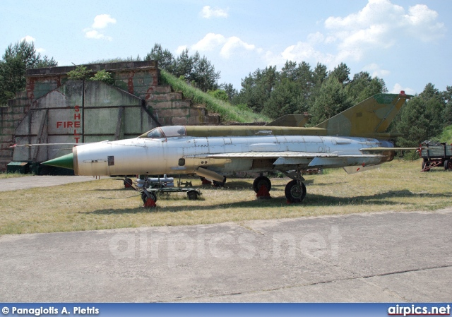 22-87, Mikoyan-Gurevich MiG-21M, German Air Force - Luftwaffe