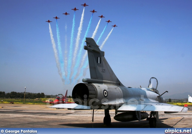221, Dassault Mirage 2000EG, Hellenic Air Force
